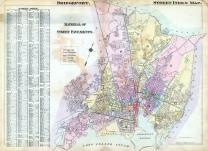 Index Map - Street, Bridgeport 1917